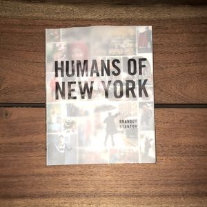 Free with any purchase. Humans of New York Book
